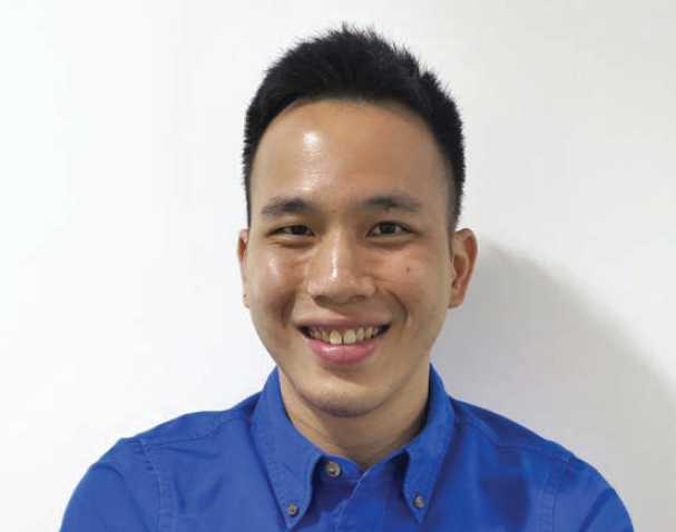 Senior Systems Architect Raymond Tan Peihao