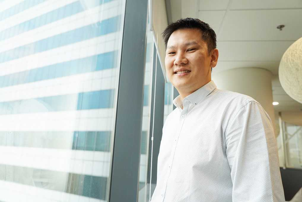 Project Manager Tay Kuo Min