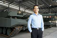 Project Manager Caleb Wong