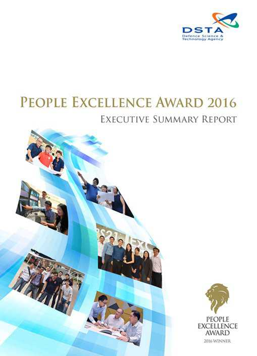 People Excellence Award 2016 Summary Report