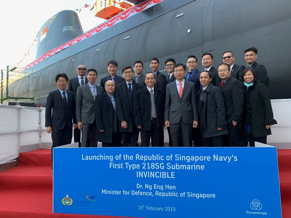 First Custom-Built Submarine for the Navy