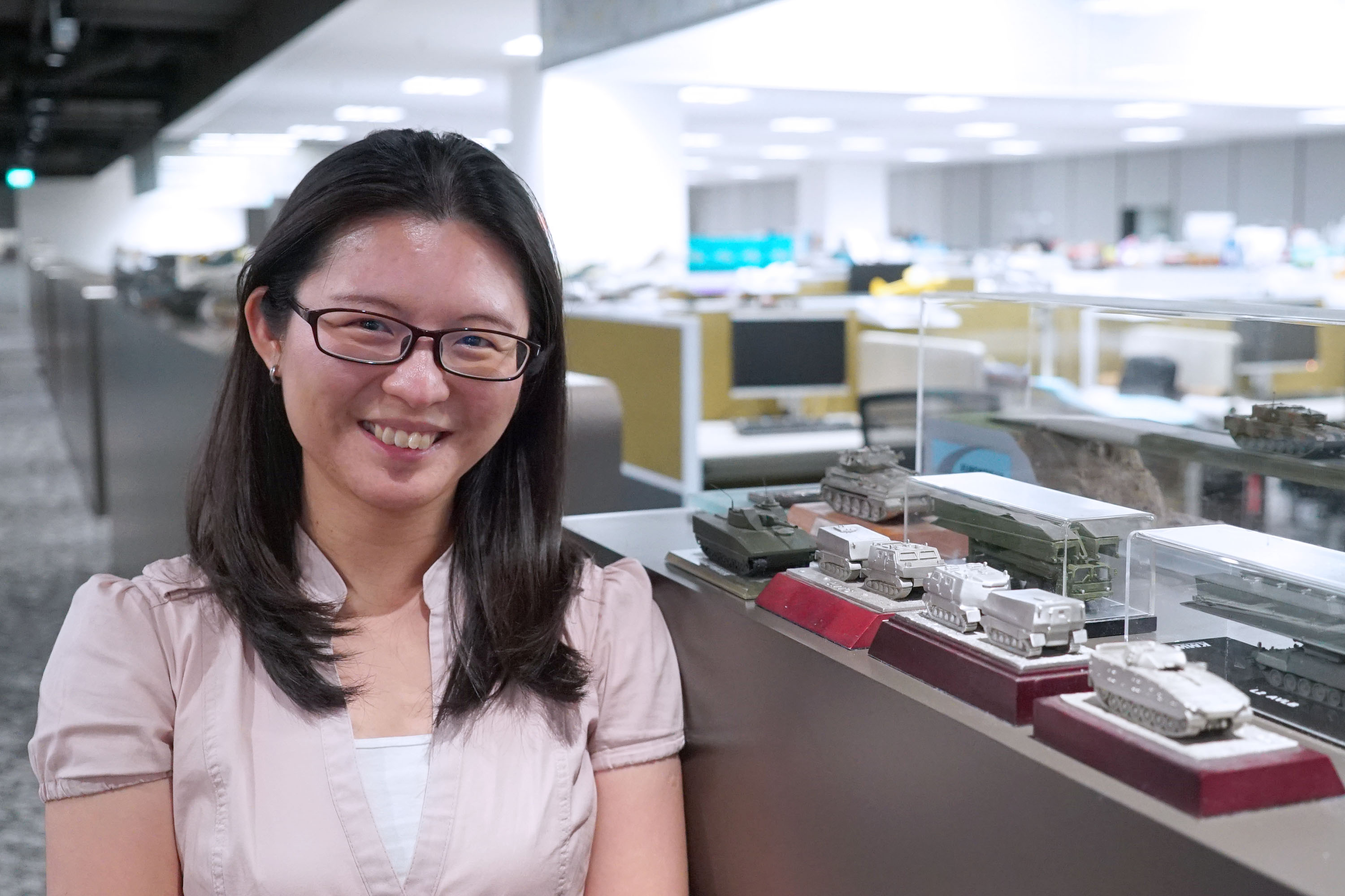 Project Manager Serene Tan Si Ling